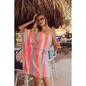 Sundress Marteen Marbella Mix Rainbow Kaftan Dress